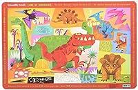クロコダイルクリーク プレイスマット ランチョンマット 恐竜 ダイナソーCRC2827-2