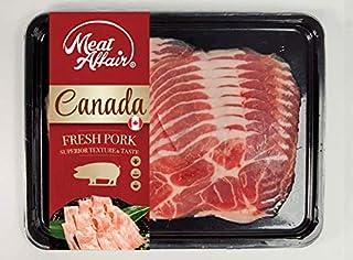 Meat Affair Canadian Pork Collar Shabushabu, 250g- Chilled