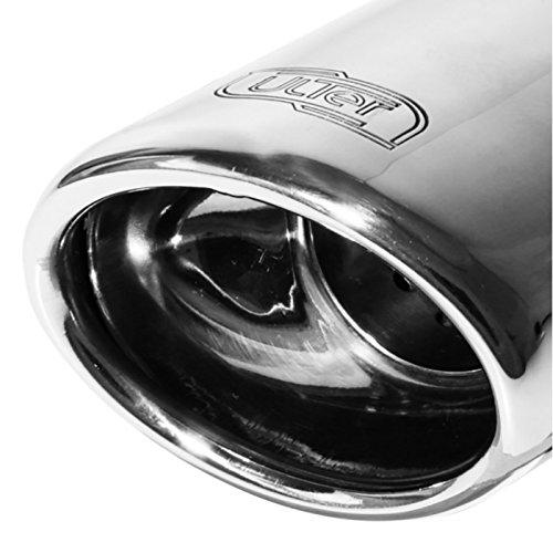 Échappement double compatible avec Opel Astra H HB 5-portes 1.4i 66kW/1.6i 77kW/1.8i 92/103kW 2004-2009 95x65mm