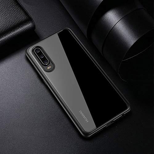 Joyguard Huawei P30 Hülle [Premium TPU + PC] [Hybrid Transparent] [Shock Proof] [Anti-Kratzer] [Ultra Slim] Huawei P30 Hülle Transparent – Schwarz - 6