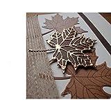 3Pcs/Set Maple Leaf Plant Cutting Dies,DIY Scrapbooking Artist Metal Cutting Dies Stencils Scrapbooking Die Cuts Card Making DIY Decorative Craft Embossing New Dies for 2020