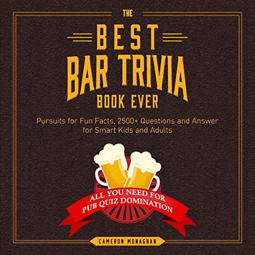 The Best Bar Trivia Book Ever Titelbild