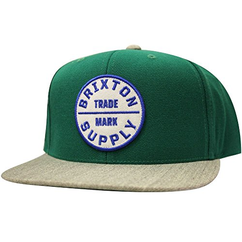 BRIXTON Oath III Snapback Cap Heather Hunter