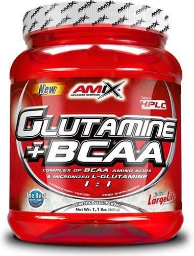 AMIX GLUTAMINE + BCAA (530 GRS) - Lima limón