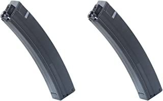 Airsoft Shooting Gear CYMA 2pcs 120rd Mid-Cap Mag Long Magazine for Tokyo Marui ICS JG G&P MP5 AEG BK