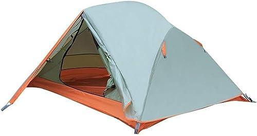 JYLJL Tente De Camping, Tente De Prougeection UV Imperméable Coupe-Vent Adaptée à 1-2 Personnes Sac à Dos Randonnée Camping, Facile à Définir 210X140X115cm