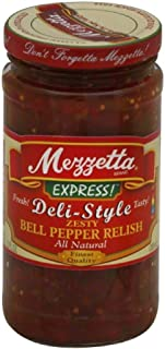 Mezzetta Express Deli-Style Zesty Bell Pepper Relish, 12 Fluid Ounce