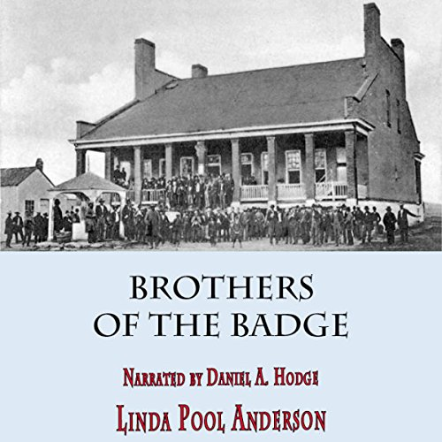 Brothers of the Badge audiobook cover art