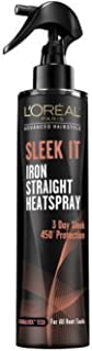 L'Oreal Sleek It Iron Heatspray Pack of 2