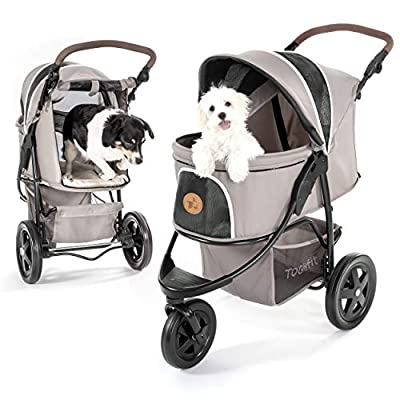 Cat Basket Hauck TOGfit Pet Roadster – Luxury Pet Stroller for Puppy,... [tag]