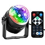 Best Disco Lights - Party Light, Disco Ball Party Lights Sound Activated Review