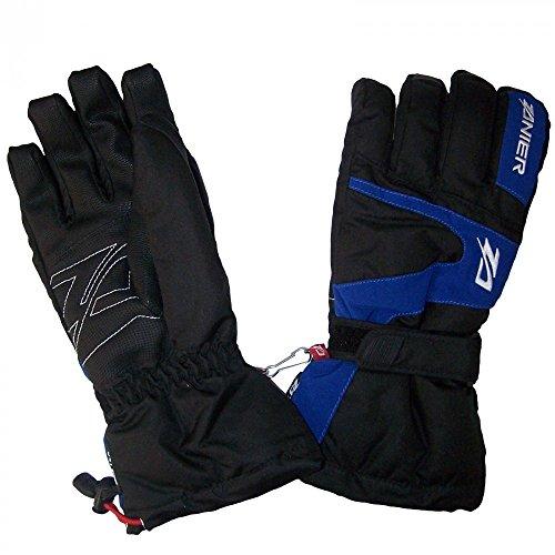 Zanier Lofer ZX Ski Handschuhe für Herren mit Wasser und Winddichter Membran, Größe:S, Farbe:Blau