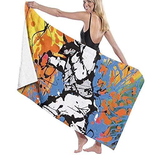 Toallas de baño suaves y cómodas grandes súper absorbentes de secado rápido para la playa surf natación hotel spa yoga novedad valla toalla de baño