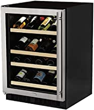 Marvel ML24WDG2RS Dual Zone Wine Cellar, Right Hinge, 24-Inch, Stainless Steel