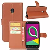 Hüllen Für Alcatel U5 3G Handyhülle 5.0 Zoll Flip Luxus