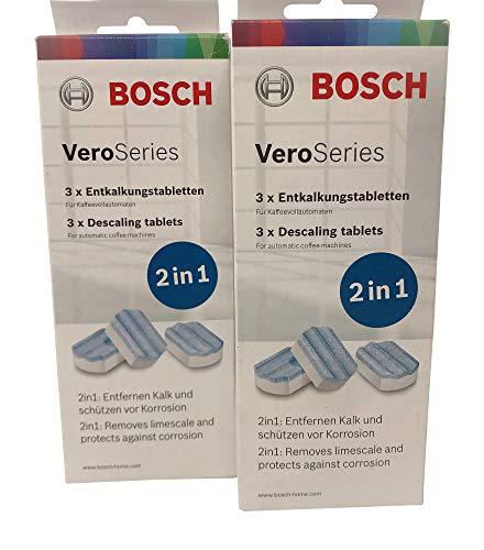 Bosch VeroSeries TCZ8002 Ontkalkingstabletten 2-in-1 voor koffieautomaten