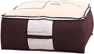 AUBERSIT Garde-Robe Placard Organisateur vêtement Sac de Rangement, Sac de Rangement Portable pour vêtements, pour Couette...
