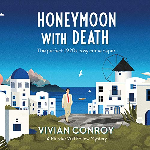 Honeymoon with Death audiobook cover art