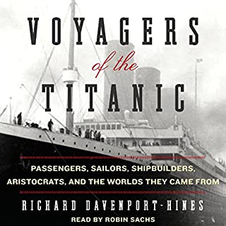 Voyagers of the Titanic audiobook cover art