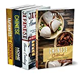 Asian Cookbook For Beginners: 4 Books In 1: 280 Recipes For Authentic Chinese And Japanese Food (English Edition)