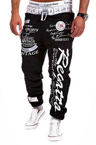 MT Styles Trainingshose Regatta Hose R-509 [Schwarz, M]