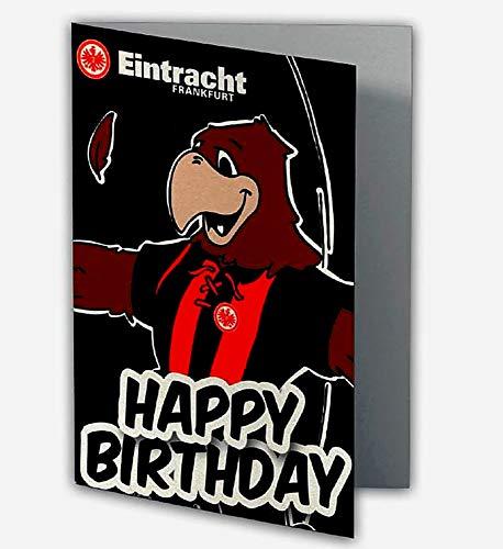 Eintracht Frankfurt Geburtstagskarte Attlia Happy Birthday Fanartikel
