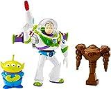 Mattel Disney/Pixar Toy Story Feature Figure 7' Space Ranger Buzz Light-year & Alien Action Figure (3 Pack)