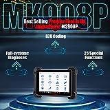 Autel MK908P Escáner Multimarca de Diagnóstico con J2534 Reprogramación Codificación ECU Programación Bidireccional Todos los diagnósticos del Sistema (2019 Nuevo MS908P MaxiSys Pro)