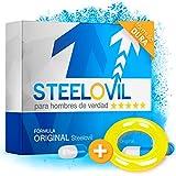 *NUEVO* STEELOVIL + ANILLO - El agente de potencia natural con la fórmula única de potencia rígida I PAQUETE DE ENTREGA NEUTRO I 4 Ingredientes altamente dosificados (ANILLO AMARILLO)