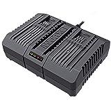 Worx - WA3883 Cargador doble rápido 20V