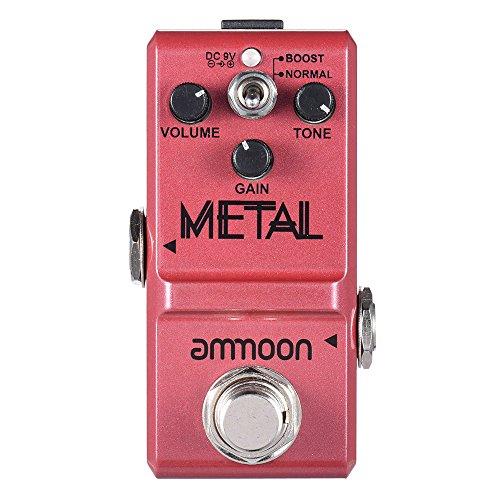 KKmoon Ammoon Nano Series Guitar Effect Pedal Heavy Metal Distorção True Bypass Corpo Da Liga de Alumínio