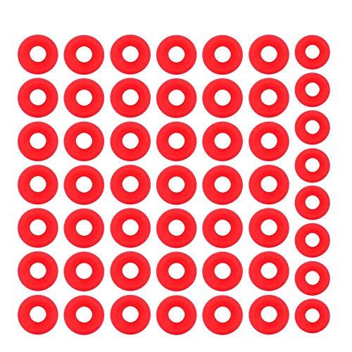 100Pz Guarnizioni Grolsch in silicone rosso per altalena Flip Top Bottle Guarnizioni per birra in casa Birra in gomma siliconica Grolsch Cap Swing Top Guarnizione per rondella