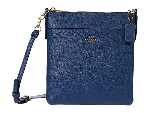 COACH Crossgrain Leather Kitt B4/Deep Blue One Size -  41320 B4RHO