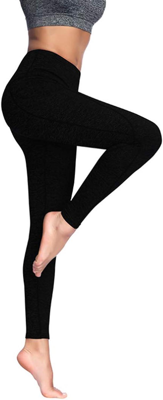 Sports Pockets Tight High Waist Elastic Polyester Fiber Hip Pants Ladies Feet Fitness Slimming Yoga Pants