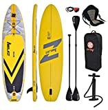 Zray E11 Combo 11' 0 ' Gonflable Sup Board Stand Up Paddle Complet Paquet 335x84x12cm Avec Kayak Siège Et Pagaie Double