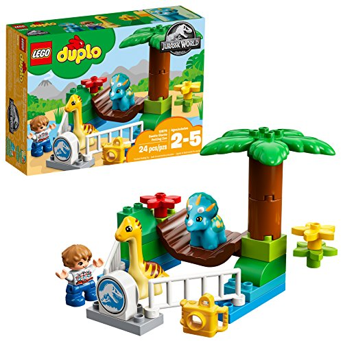 Lego DUPLO Jurassic World Dino-Streichelzoo 10879 (24 Teile)