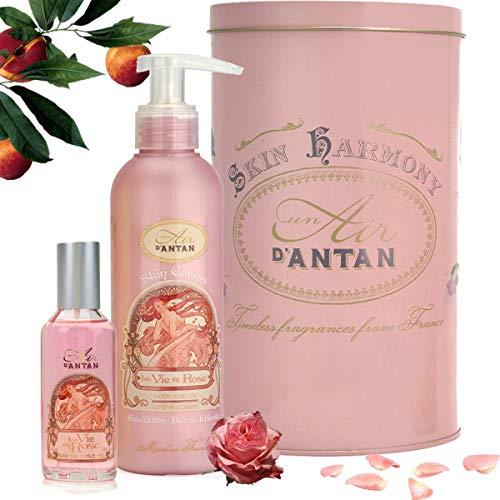 Le coffret beauté soin à la rose Un Air d'Antan