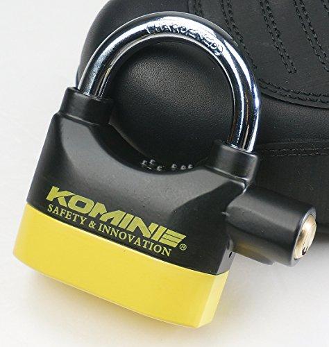 KOMINE(コミネ)『アラームパッドロック(LK-120)』