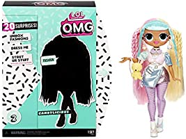 L.O.L. Surprise! 565109E7C O.M.G. Candylicious Fashion Doll with 20 Surprises