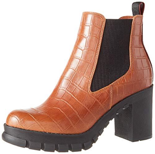 Buffalo Damen MARLEE Mode-Stiefel, Cognac, 38 EU