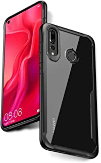 Nova 4 Case, Ultra Hybrid Heavy Duty Transparent Clear Phone Case for Huawei Nova 4 Case, Shockproof Protective Phone Cases with Air Cushion Protection Technology