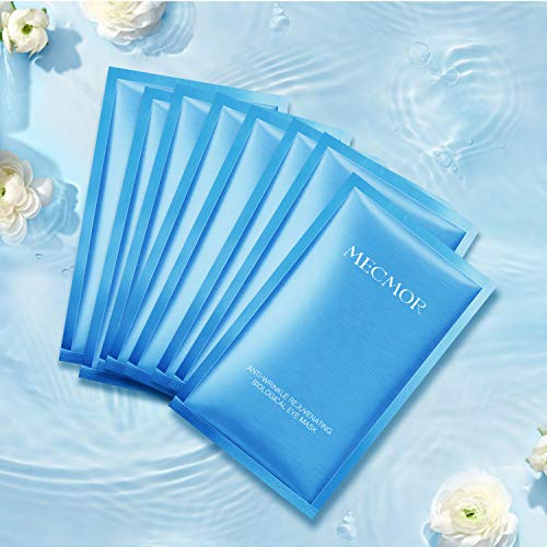 515wxeaasZL - MECMOR Anti-aging Eye Treatment Mask 8 Pairs for Reducing Fine Lines and Dark Circles, Eye Mask for Puffiness, Additive Free Tightening Moisturizing Hydrating Skin for Women and Men, For All Skin Type