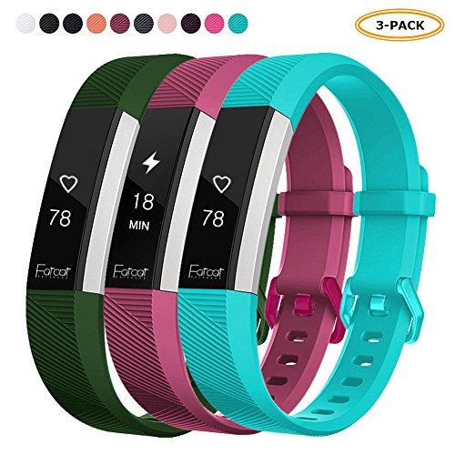 FatcatBand per Fitbit Alta HR & Fitbit Alta Cinturino, Regolabile Cinturino Edizione Speciale Morbido Sportivo in Silicone per Fitbit Alta HR/Fitbit Alta Battito Cardiaco Smart Watch