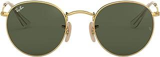 unisex-adult Rb3447n Round Flat Lenses Metal Sunglasses...