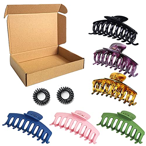(50% OFF) Claw Hair Clips 6 Pack $4.50 – Coupon Code