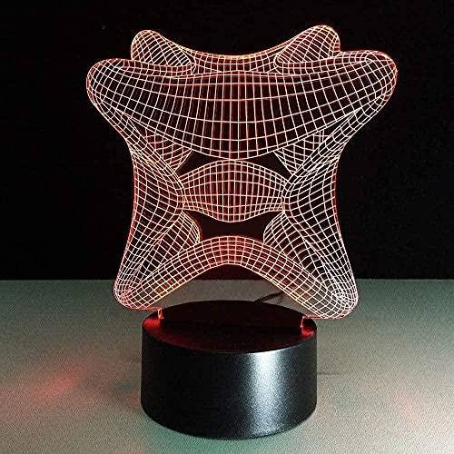 MXLON 3D Nachtlicht Mode Geschenk...