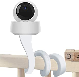 Baby Monitor Mount Shelf, Eoncore 360 Degree Infant Baby Camera Holder with 1/4 Threaded Hole Compatible with Arlo, Motoro...