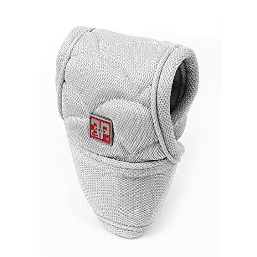Grau Nylon Bezug Schalthebel Schaltknauf Abdeckung Schalthebel Schutz für Auto de