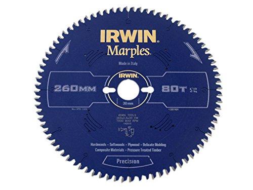 Irwin - Disco sierra circular 260mm/80t inglete