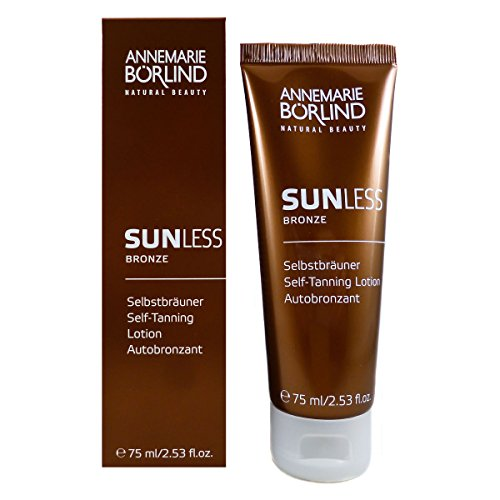 Annemarie Börlind Sunless Bronze unisex, Self Tanning Lotion, 1er Pack (1 x 75 ml)